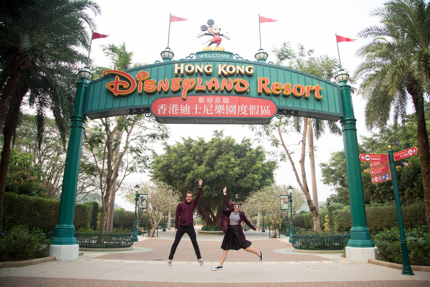 checking into the hong kong disneyland hotel | kelsey bang