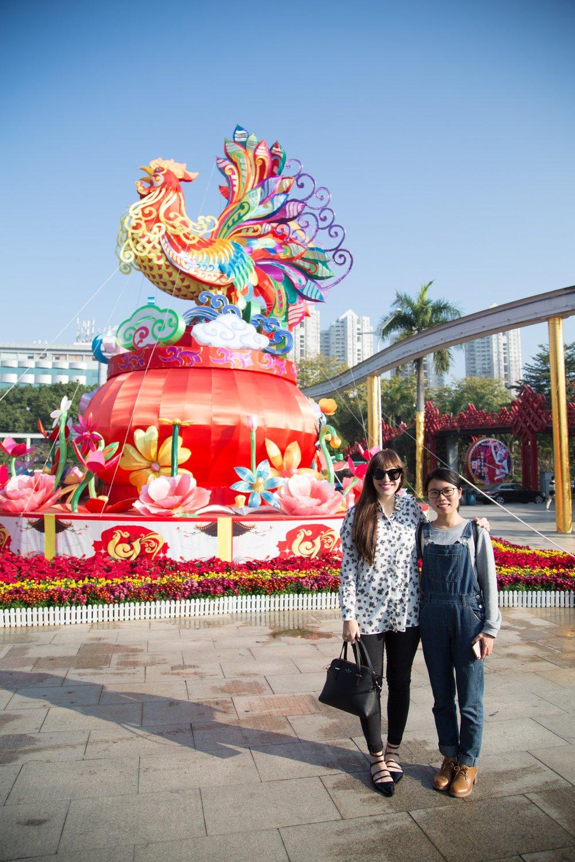 schenzen china the year of the chicken
