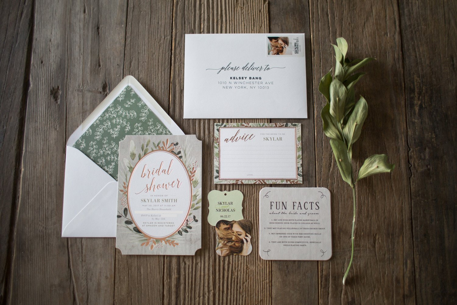 First Step to Planning a Bridal Shower- Fabulous Invitations!
