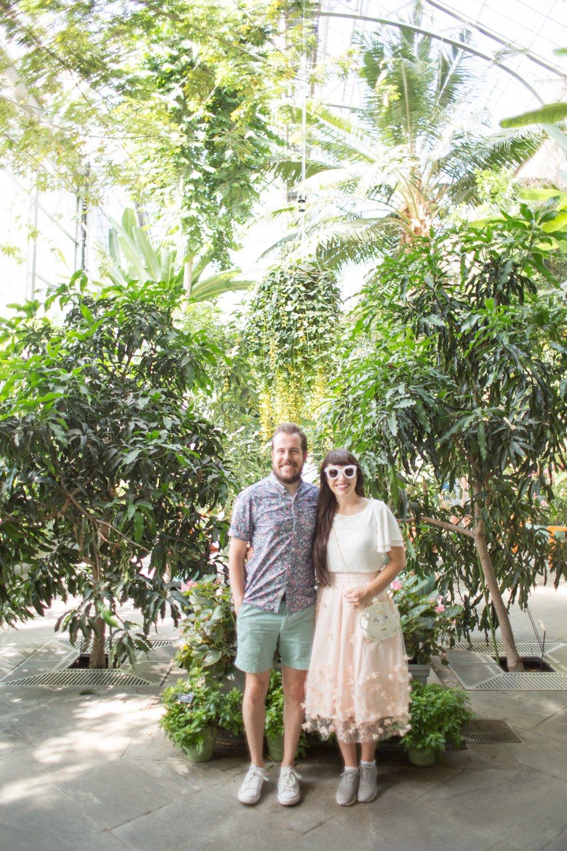 Washington dc botanical garden kelsey bang for Botanical gardens dc christmas