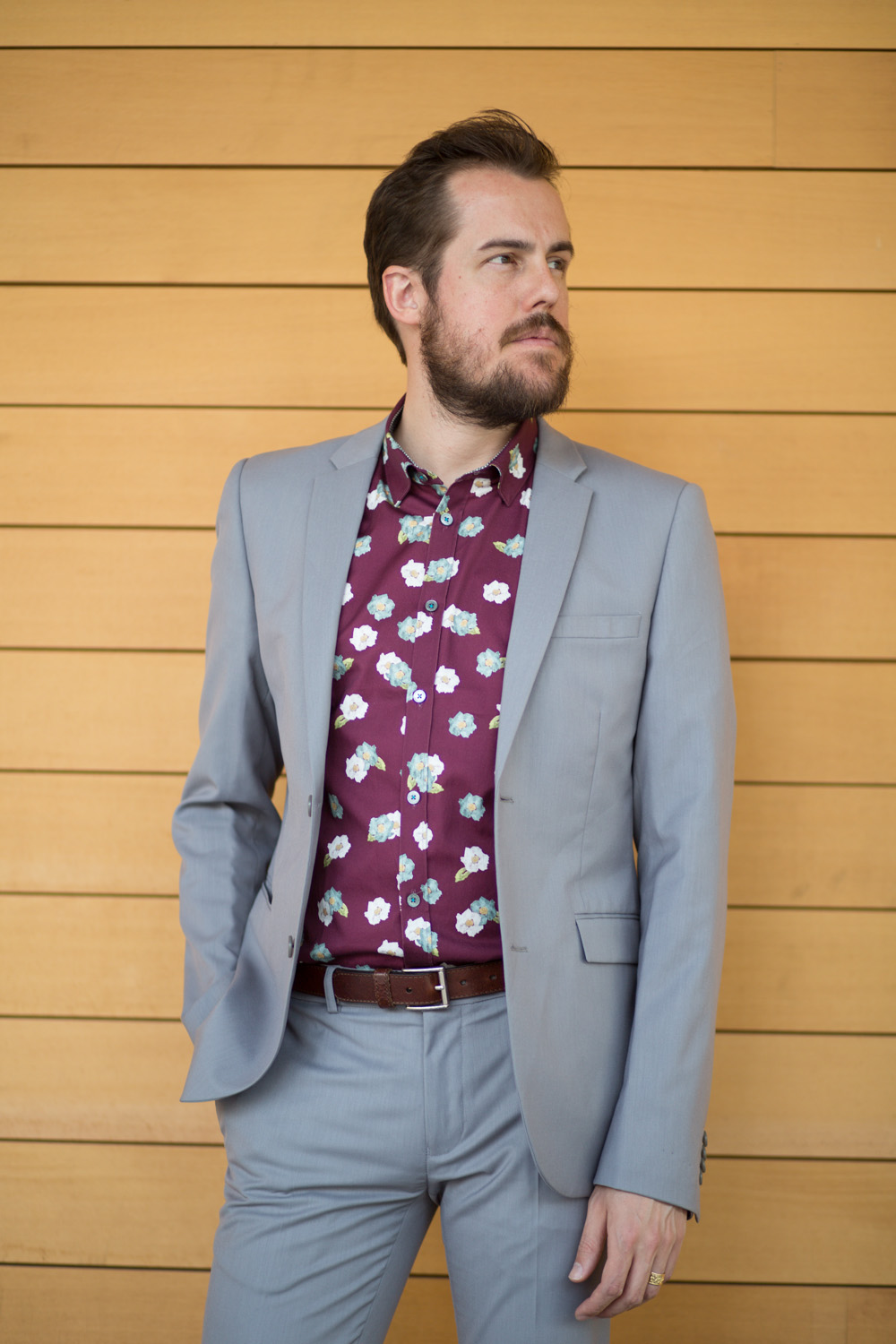 Ted Baker Floral Shirt Menswear