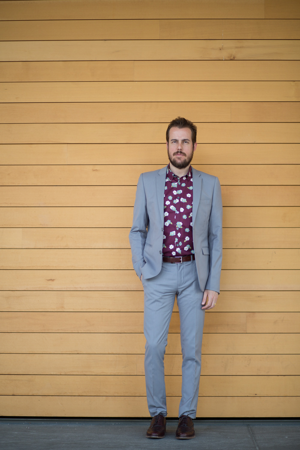 Menswear Fashion Blog- Ted Baker London Floral Shirt