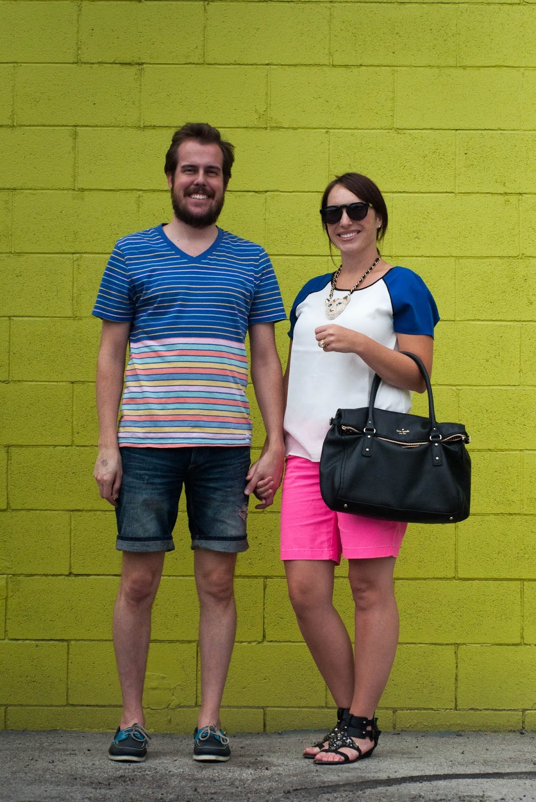couples fashion, couples style, ootd, katespade, sperry topsider, zara, sam edelman