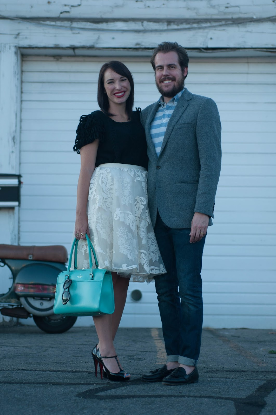 couples style, couples fashion, kelsey bang, mac lipstick, ootd, anthropologie ootd, prada cats eye,