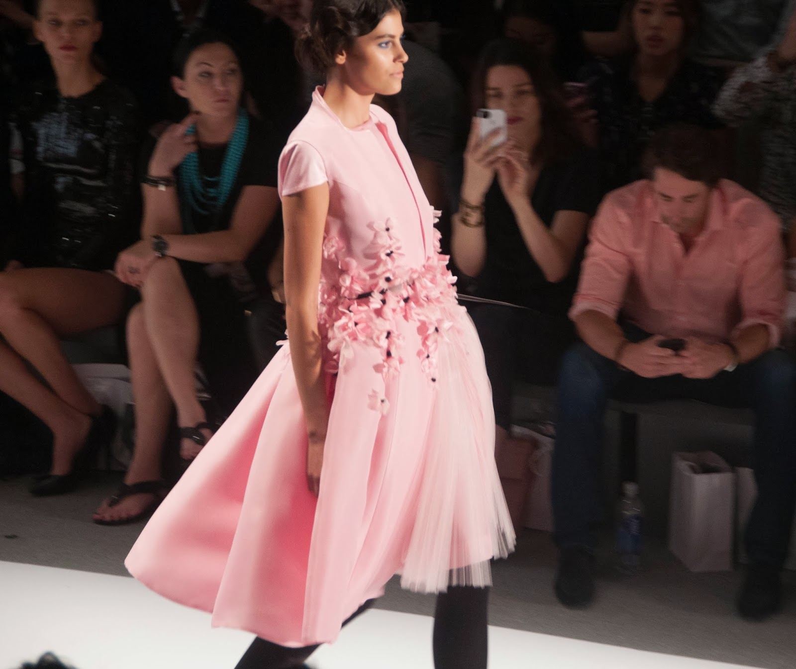 zang toi, zang toi new york fashion week runway, new york fashion week designers, new york fashion week, spring summer 2014 fashions, zang toi ballet babe runway show, zang toi 2014