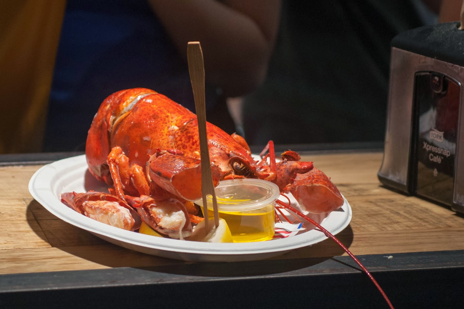 lobster, lobster roll, new york city, chelsea market place, lobster and butter, chelsea
