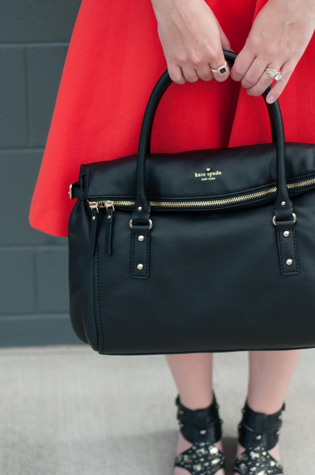 fashion blog, style blog, sam edelman, kate spade new york, h and m, ootd, designer handbag
