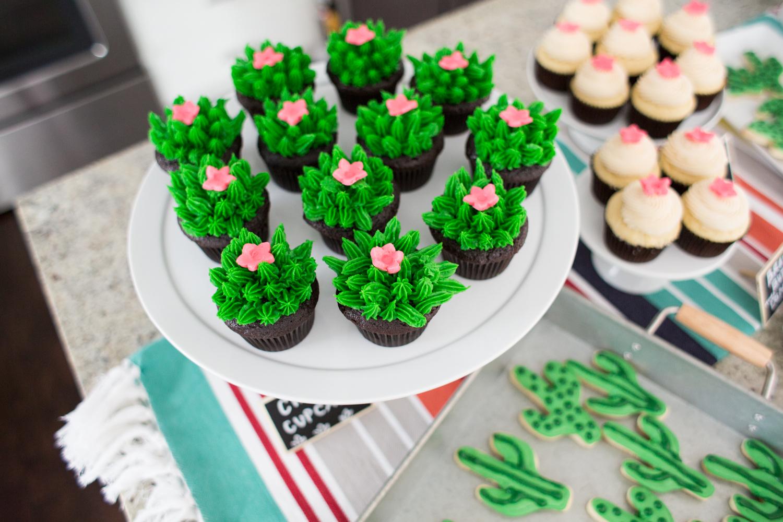Cute Cactus Cupcakes