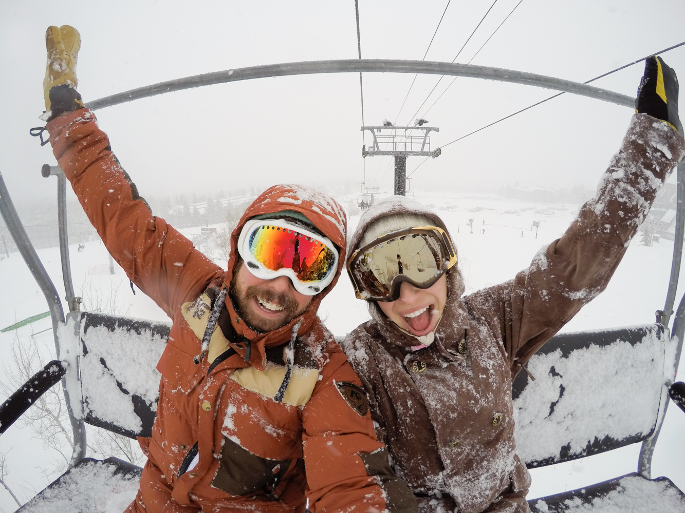 Park City Ski Resort Snow Storm