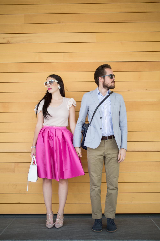 Pink And Blue Kelsey Bang