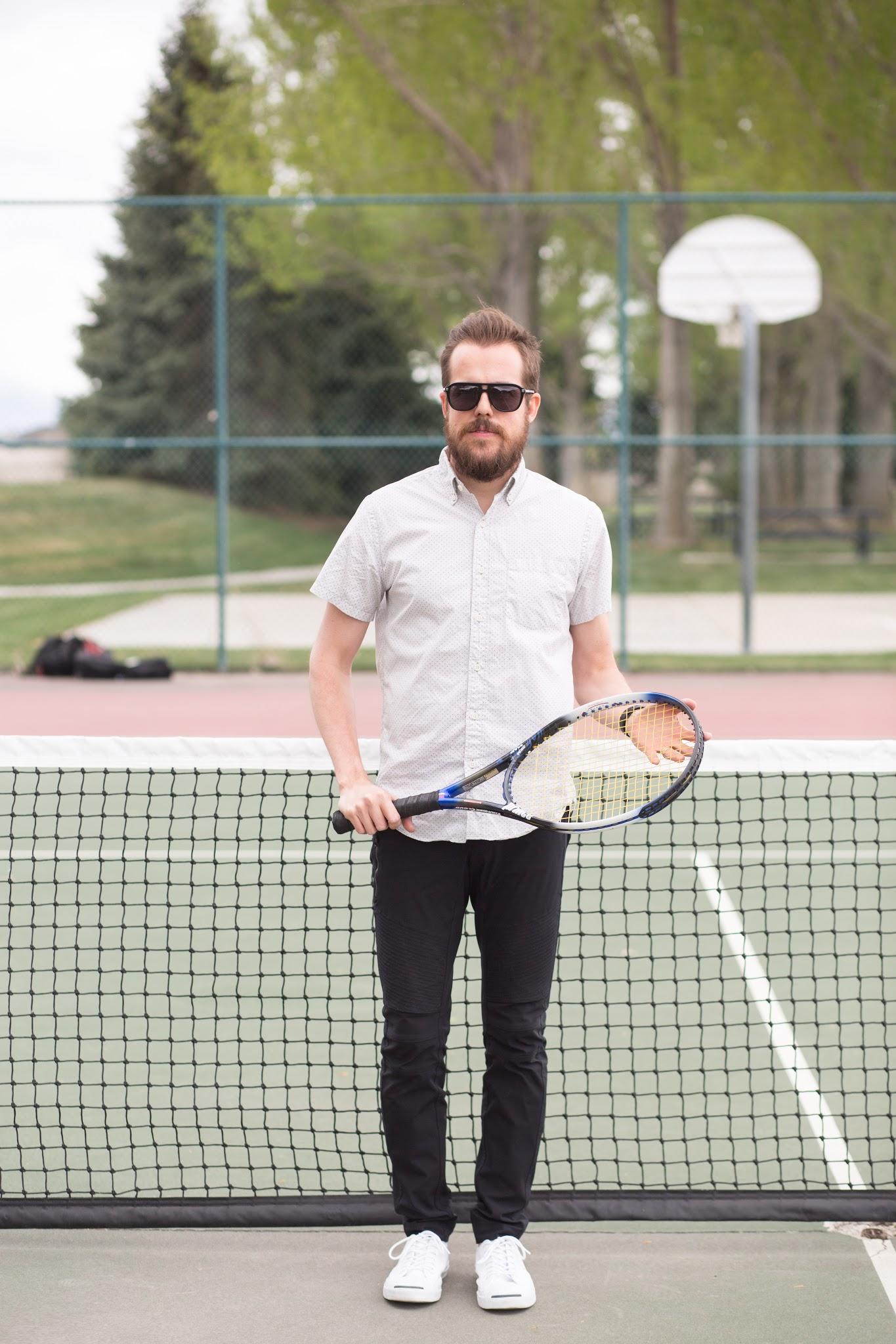 menswear tennis style