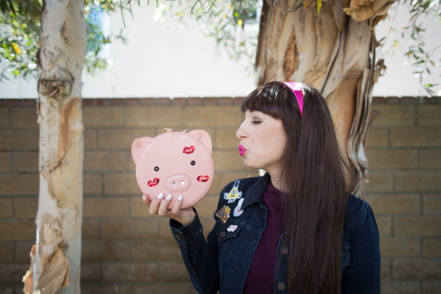 Patricia Chang Pig Wristlet Review