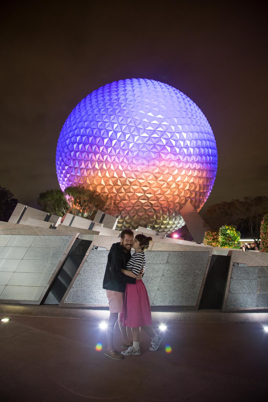 Disney Couple Style Blog at Epcot
