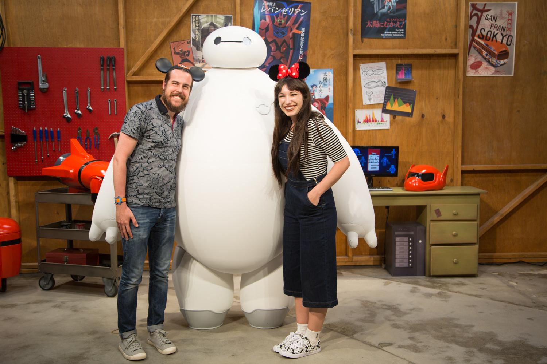 Baymax Character at Epcot Walt Disney World