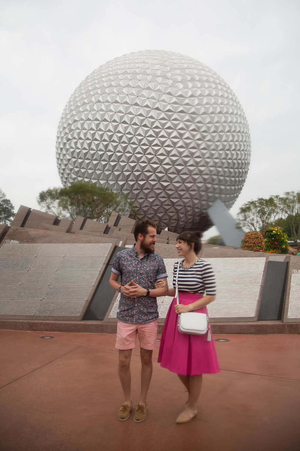 Disney Couple Style Blog at Epcot