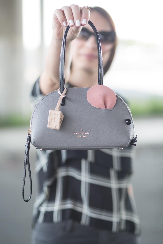 Kate Spade Cat's Meow Mouse Handbag