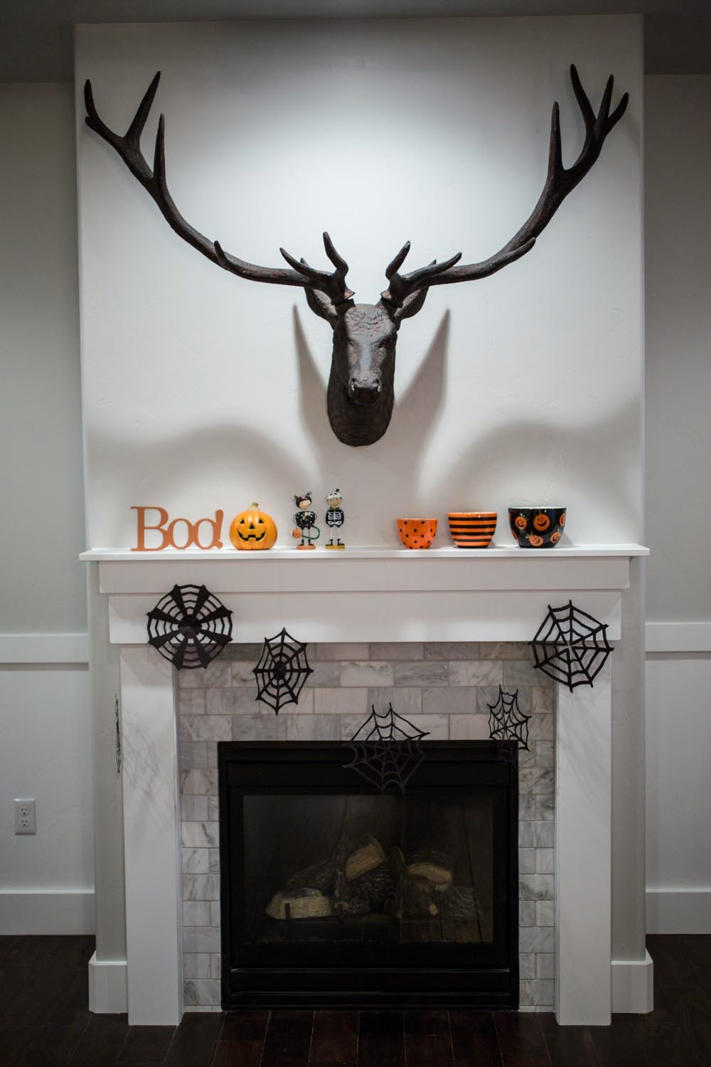 restoration hardware stag head and halloween decor - Restoration Hardware Halloween