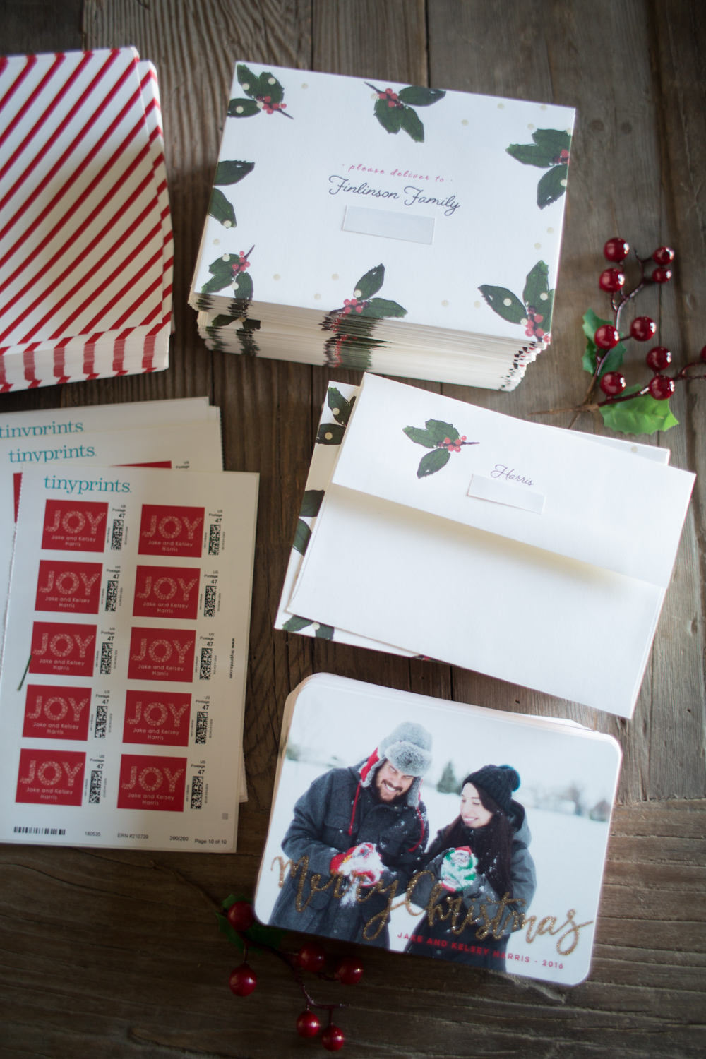 Tiny Prints Holiday Glitter Cards Review