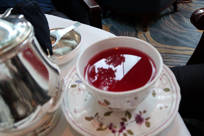 tea time in hong kong china