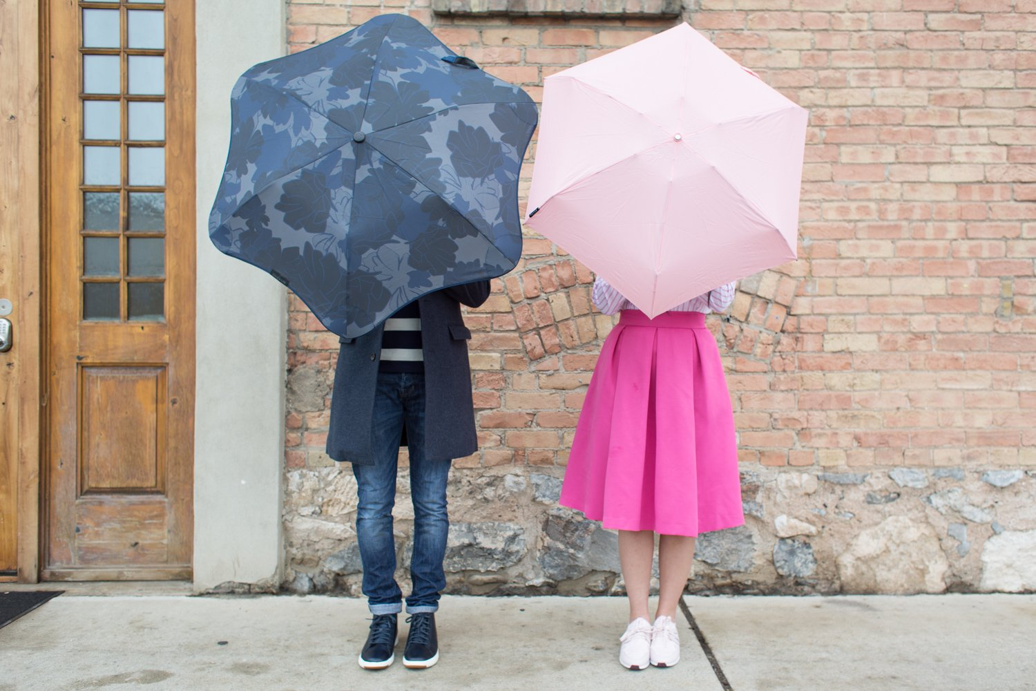 his and her rainy day style