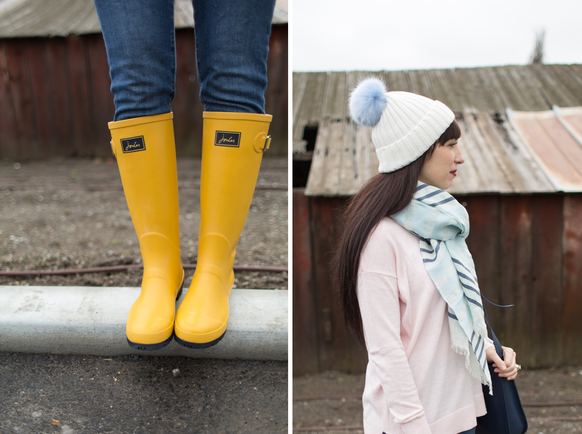 3ba33bc0bd2 A Day on the Farm in our Joules Rain Boots/ Wellies