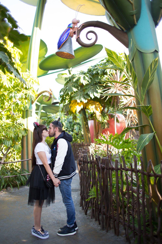 Disneyland Adventure Couple