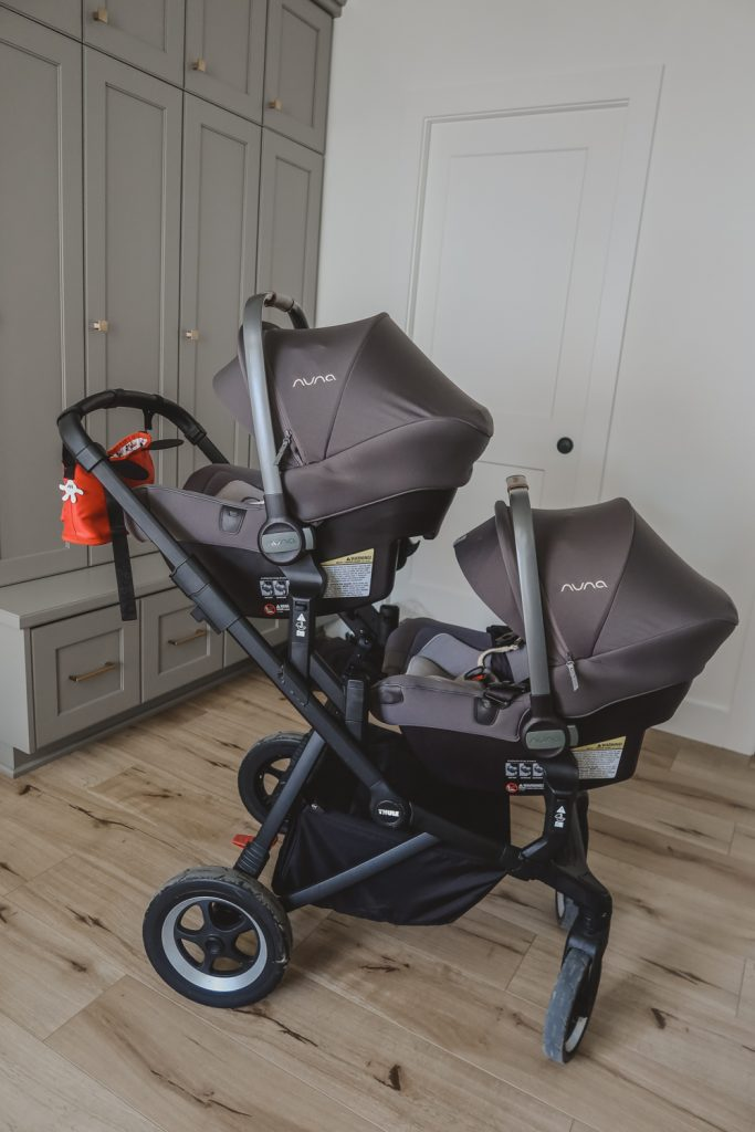 Why I Picked The Thule Sleek Stroller For My Twins ...