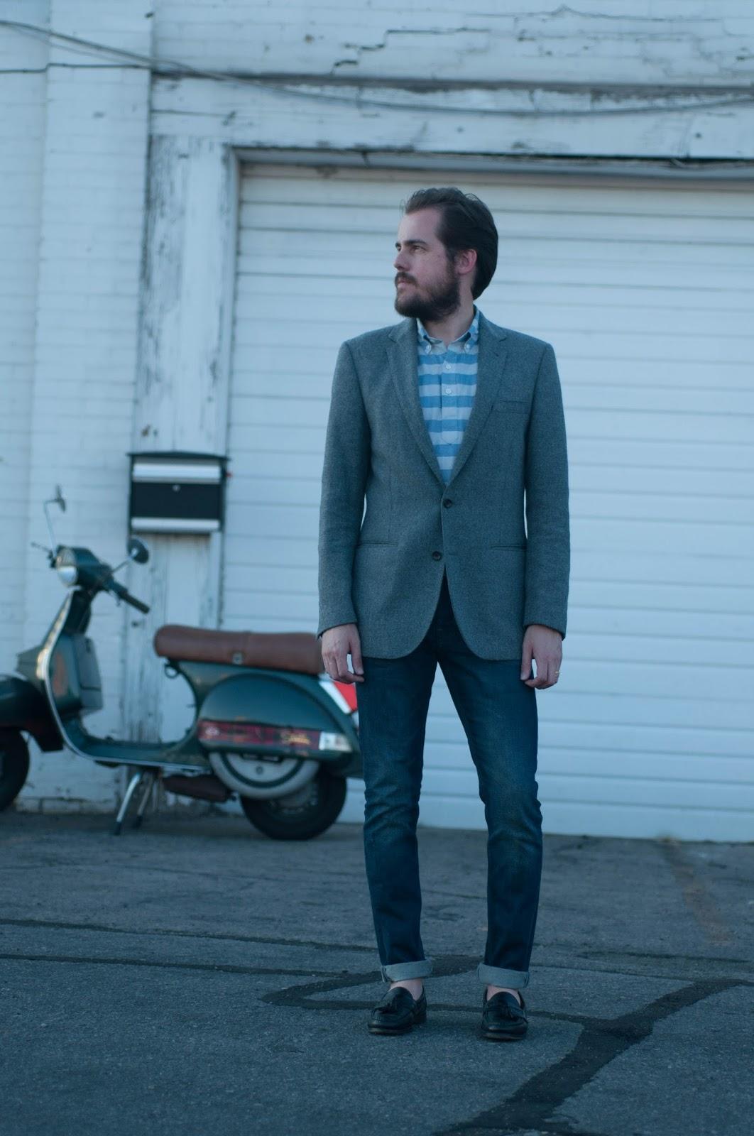 ootd, jcrew, mens style, mens fashion, allen edmounds, all saints cigarette jeans,