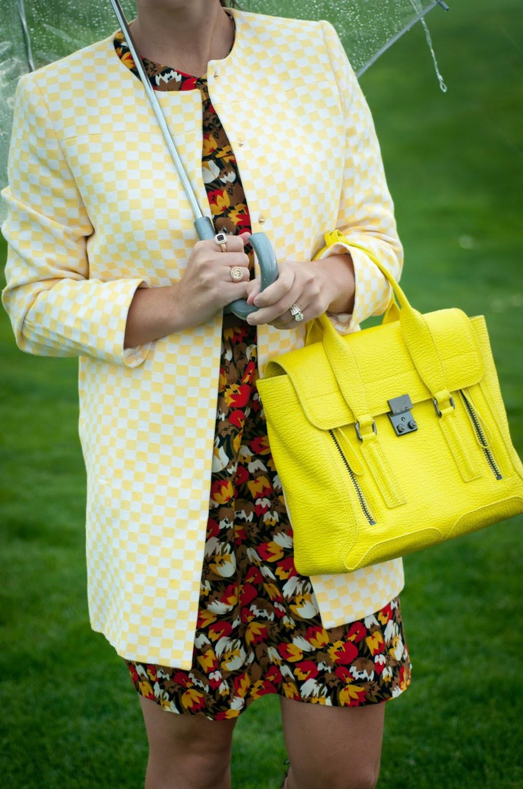 ootd, anthropologie dress, anthropologie ootd, phillip lim handbag, phillip lim pashli satchel, floral dress