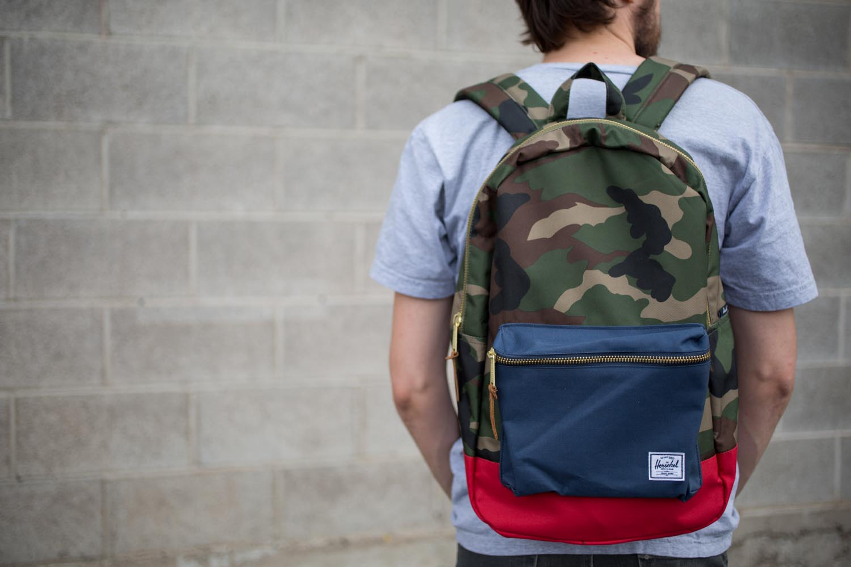 Herschel Supply Co Settlement Mid-Volume Camo Backpack