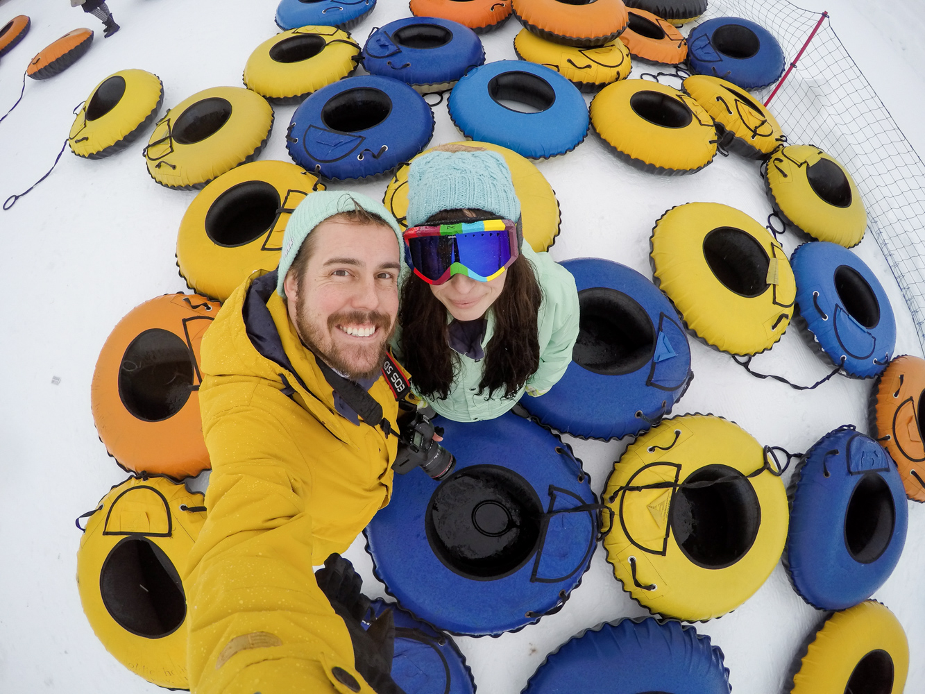 Date Night- Snow Tubing at Solider Hollow