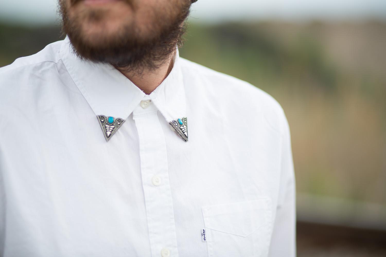 Asos Reclaimed Vintage Collar Tips