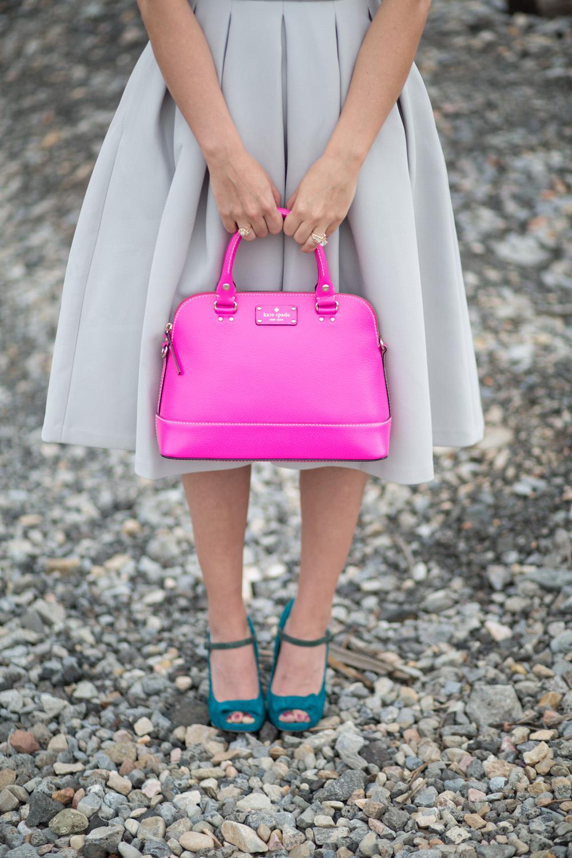 Neon Pink Kate Spade New York Hand Bag