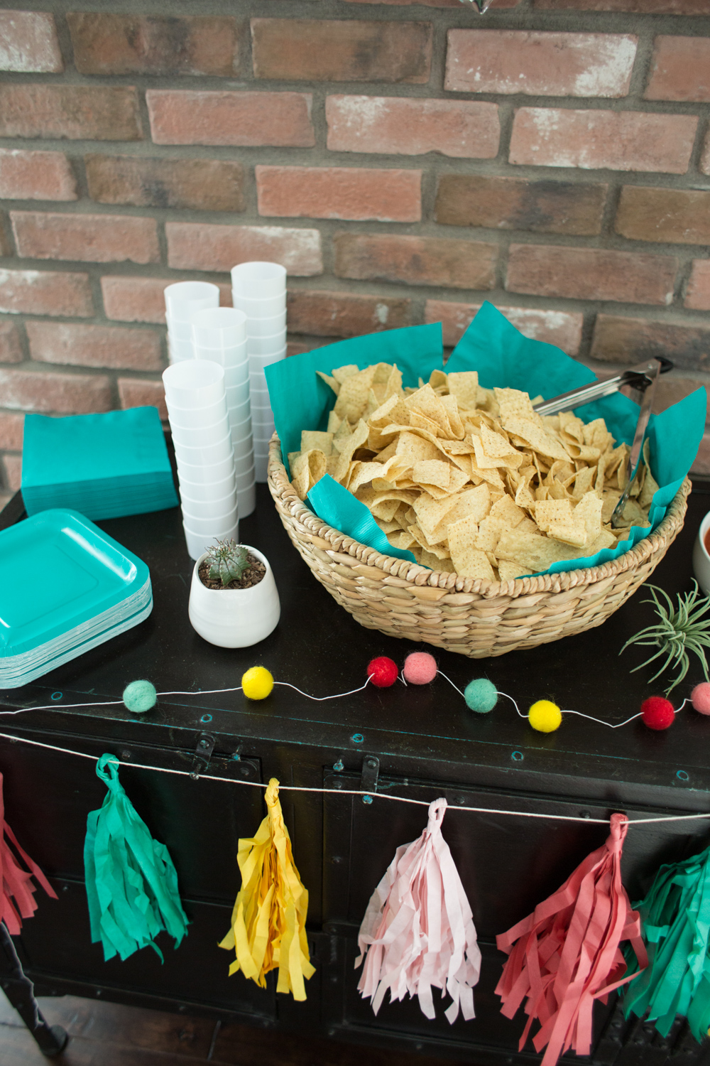 Chips and Salsa Party Bar