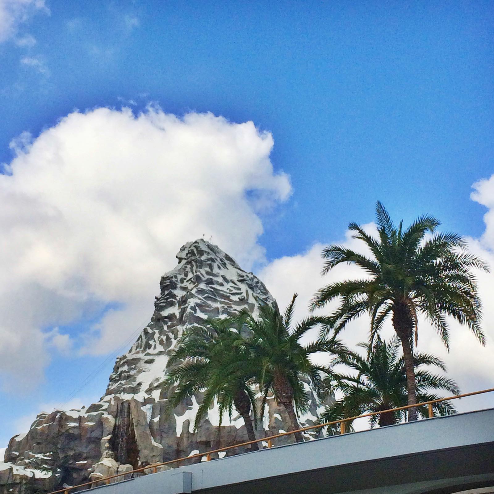Disneylands Matterhorn