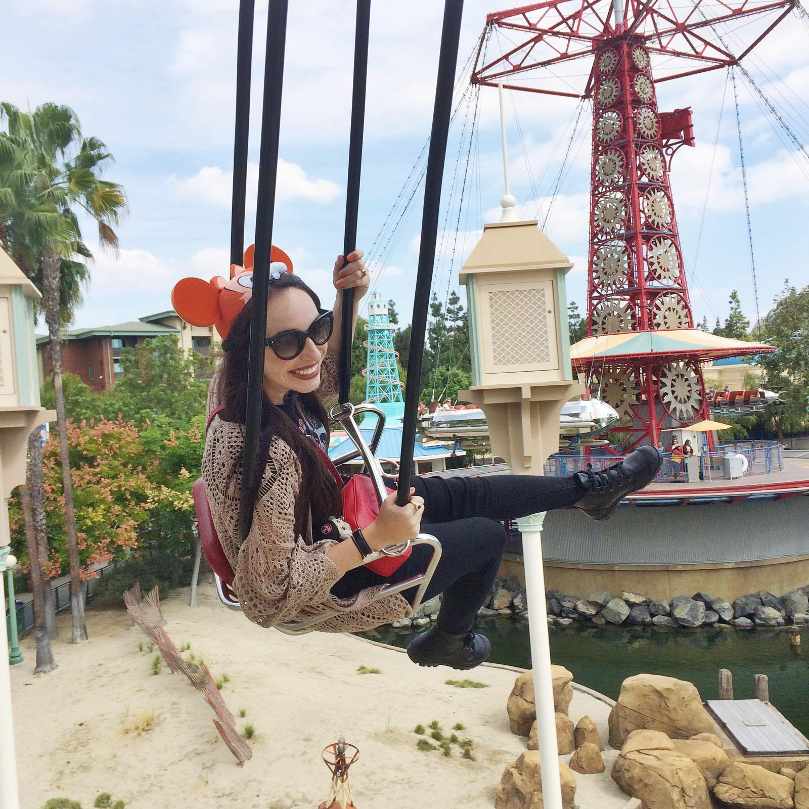 Disneyland's California Adventure Symphony Swings