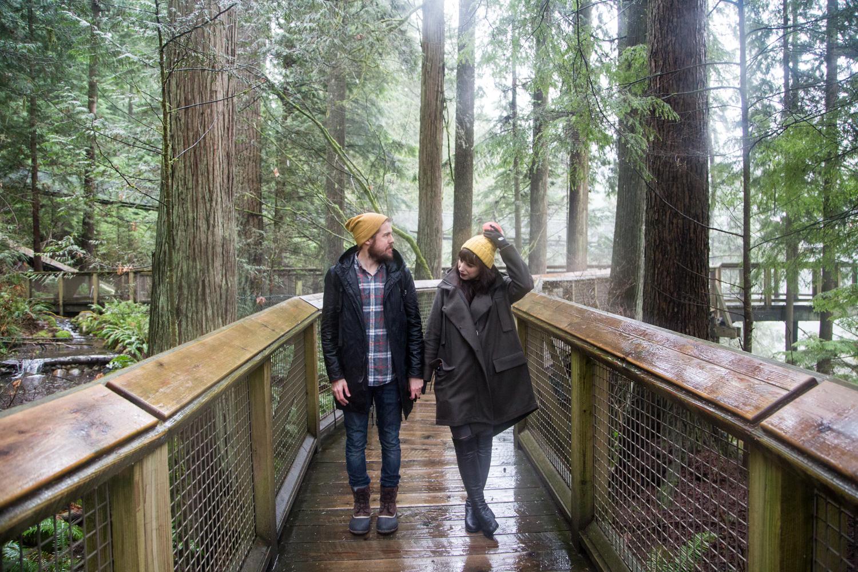 Capilano Suspension Bridge Park in Vancouver Canada + Vlog