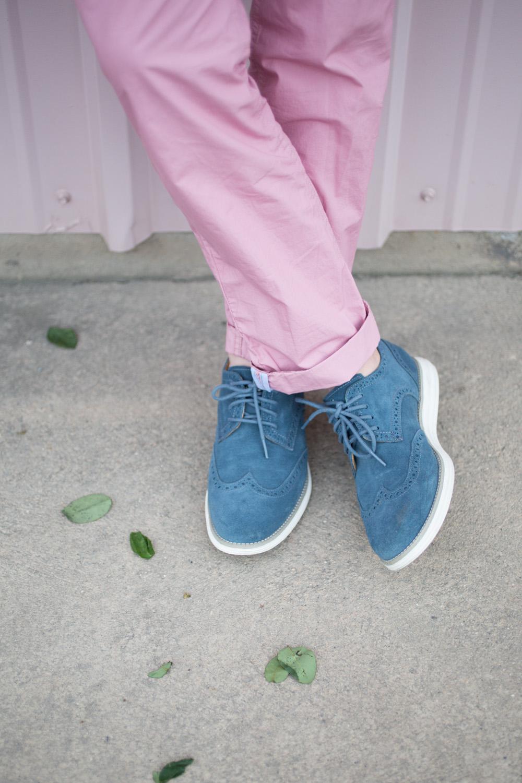 Cole Haan Lunargrand Wingtip Sneakers