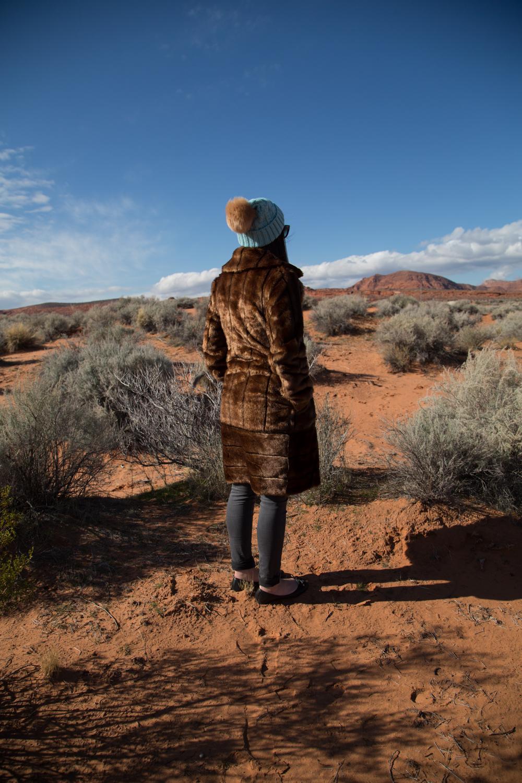 Asos Faux Fur Coat Style