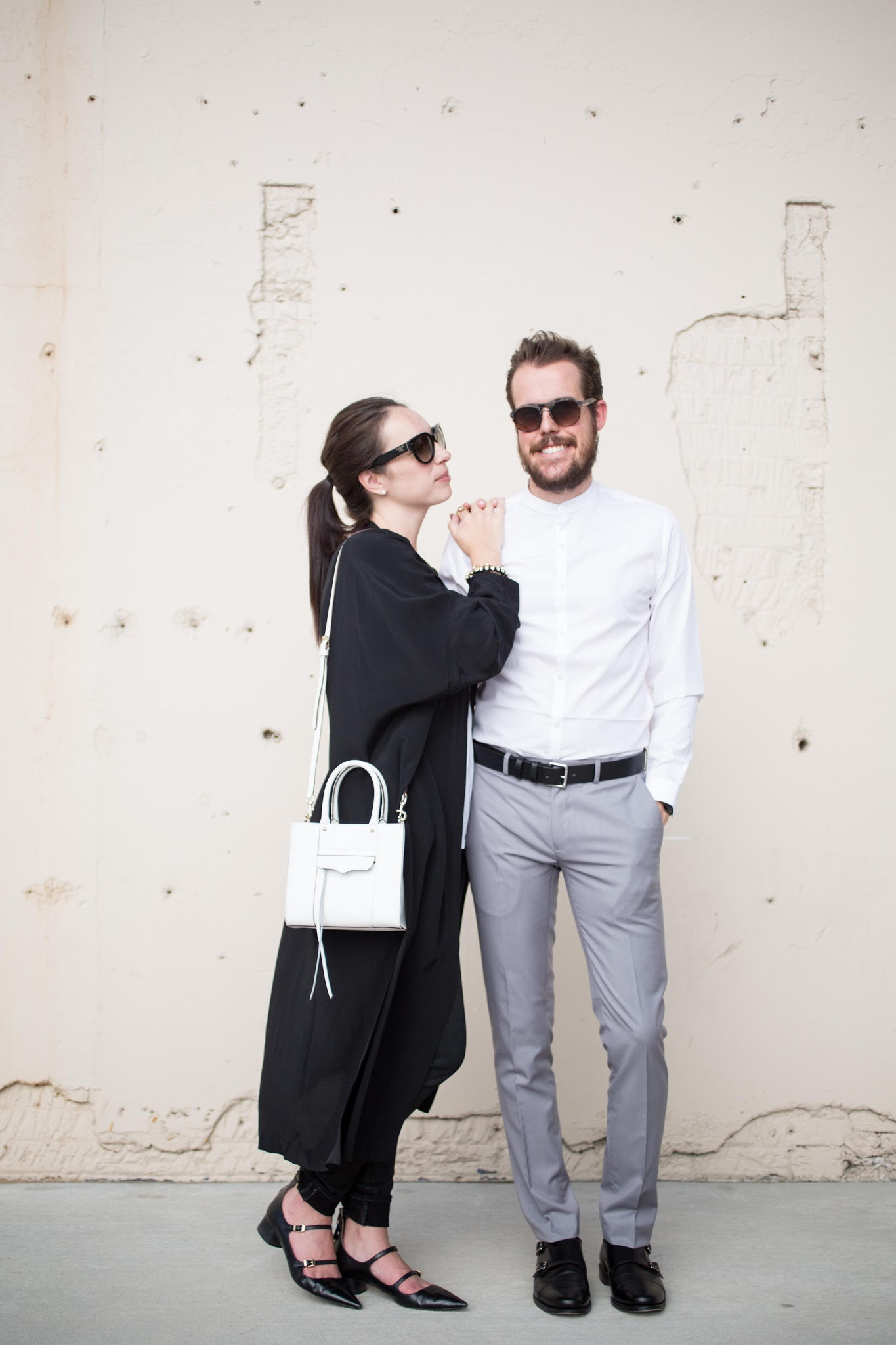 couples fashion style minimalist duster coat prada topman zara
