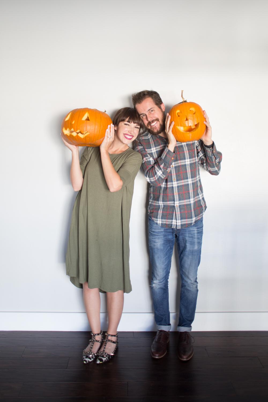 date night pumpkin carving