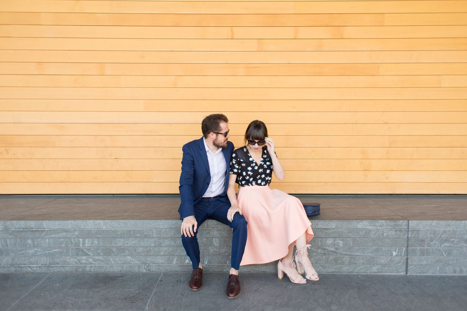 His and Hers couple style blog