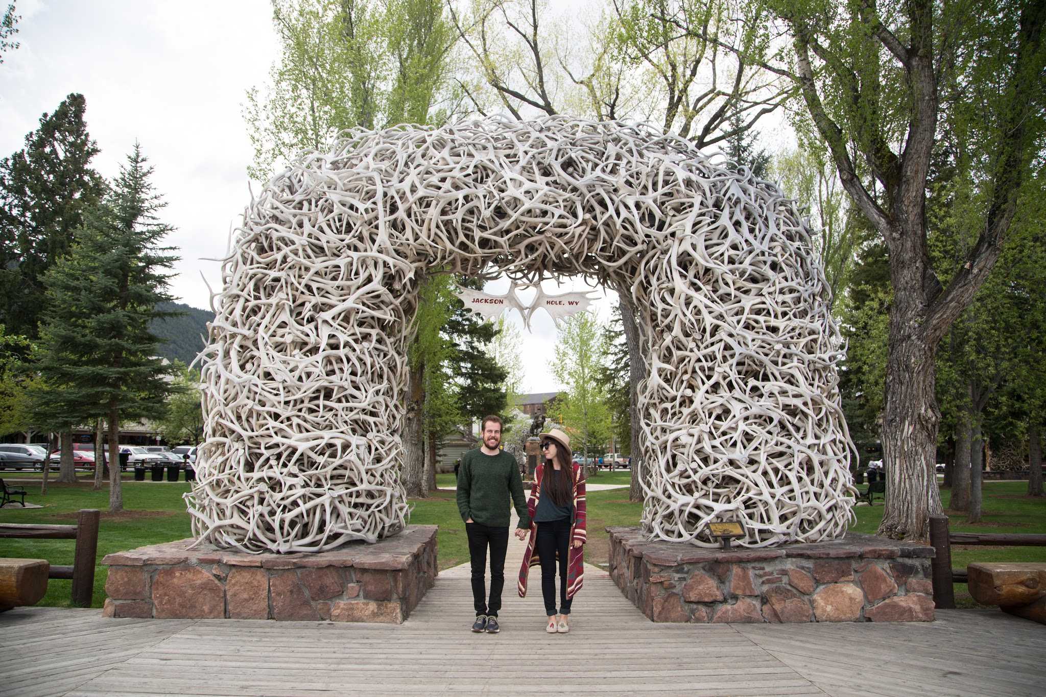 Jackson Hole Wyoming Adventure Couple