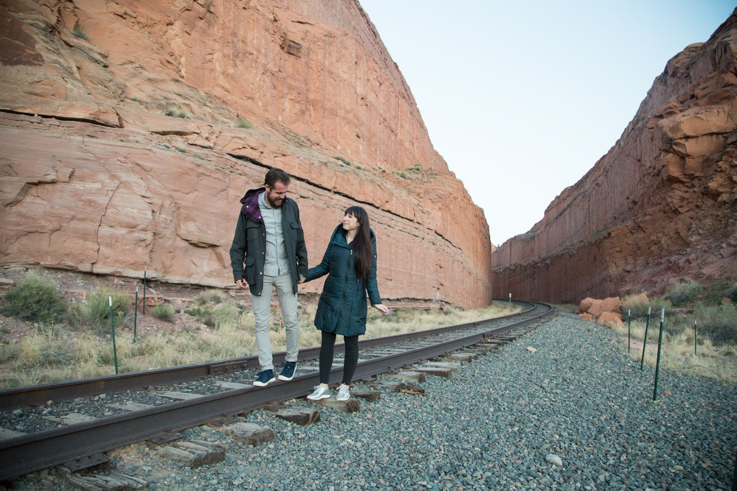 Arches National Park, Fashion Couple
