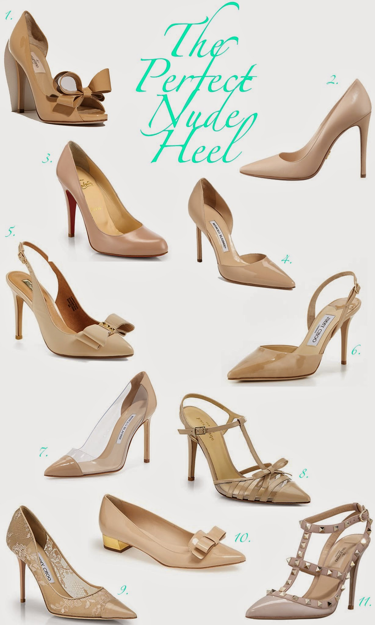The Perfect Nude Heels