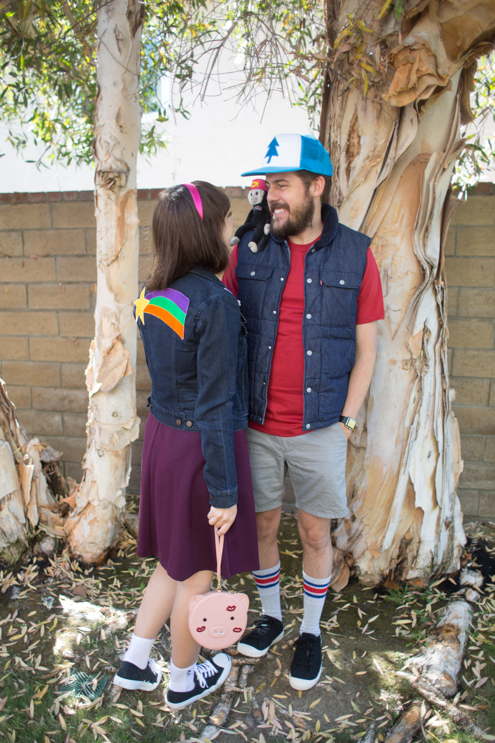 Mabel and Dipper Pines From Gravity Falls Disney Bounding Outfits