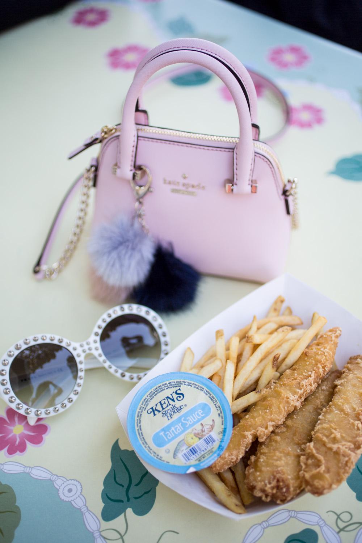 Disneyland Food Blog Reviews - Fish and Chips