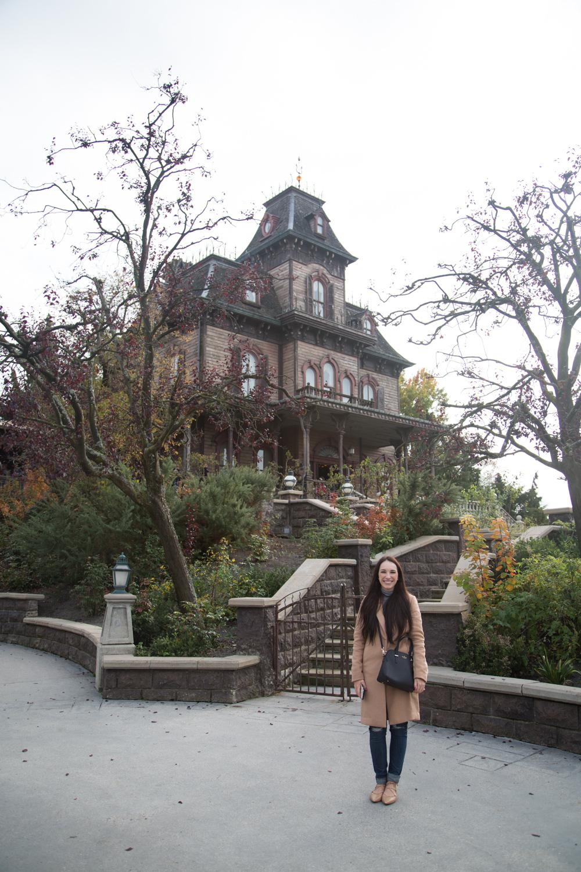 Haunted Mansion at Disneyland Paris