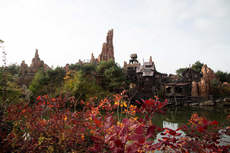 Disneyland Paris Thunder Mountain Railroad