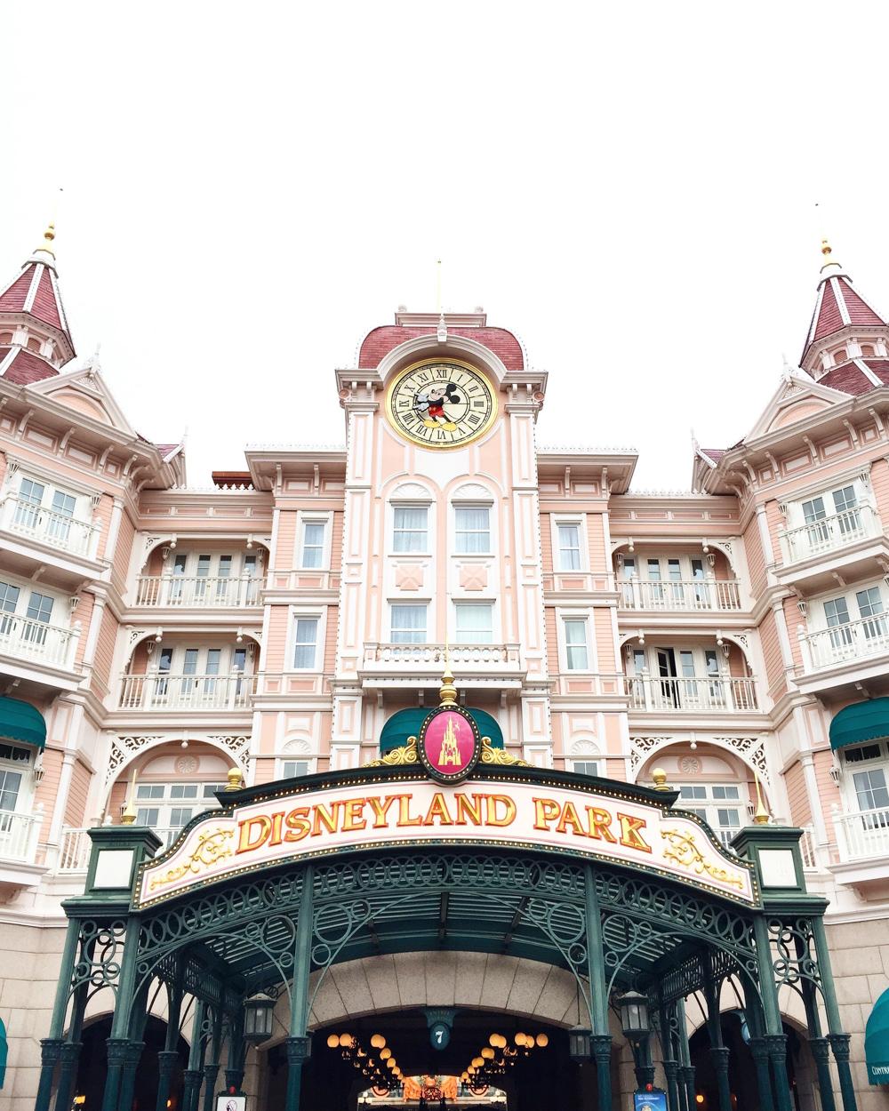 Disneyland Paris Main Entrance